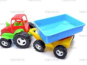 Трактор с прицепом для детей, 07-709, купить