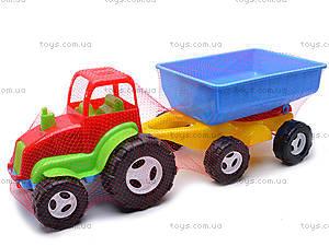 Трактор с прицепом для детей, 07-709, цена