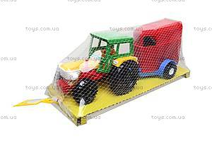 Трактор с прицепом «Конюшня», 39215