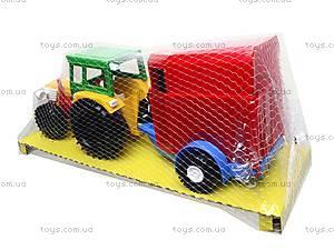 Трактор с прицепом «Конюшня», 39215, фото