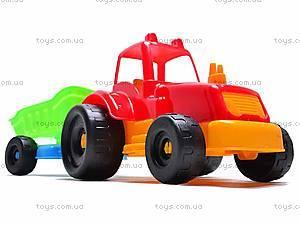 Трактор с прицепом, маленький, 07-711, отзывы