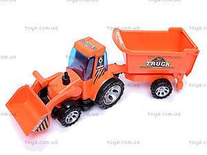 Трактор с прицепом Truck, FD602A, отзывы