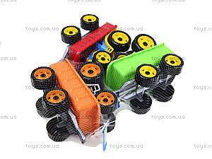 Детский игрушечный трактор с прицепом для детей, 3442, цена