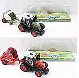 Трактор с прицепом инерционный, 2 вида, 4007A-5A-2A-4, отзывы