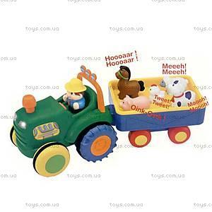 Трактор с трейлером, 024753