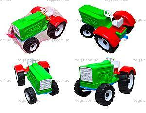 Игрушечный трактор «Шустрик-колхозник», 1063