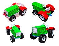 Игрушечный трактор «Шустрик-колхозник», 1063, фото