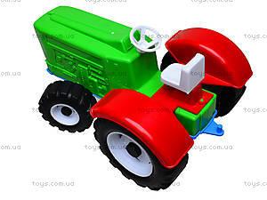 Игрушечный трактор «Шустрик-колхозник», 1063, отзывы