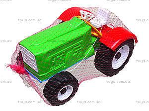 Игрушечный трактор «Шустрик-колхозник», 1063, детские игрушки