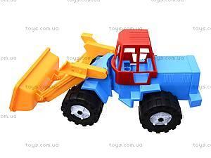 Трактор «Шустрик-скрапер» №1, 1061, игрушки