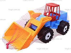 Трактор «Шустрик-скрапер» №1, 1061, детские игрушки