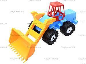 Трактор «Шустрик-скрапер» №1, 1061, магазин игрушек