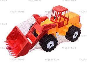 Игрушечный трактор «Шустрик-скрапер», 1061, отзывы
