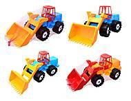 Игрушечный трактор «Шустрик-скрапер», 1061