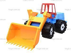 Игрушечный трактор «Шустрик-скрапер», 1061, магазин игрушек