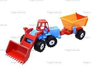 Трактор «Шустрик-скрапер», 1062, игрушки