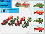 Трактор со съемным прицепом, 4007B-6789, отзывы