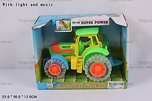 Трактор, со звуковыми и световыми эффектами, 2369A-21