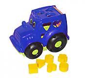 Трактор - сортер «Кузнечик» №1 (синий), 0329, купить
