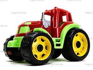 Детский трактор «Строитель», 3800, игрушки