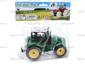 Трактор игрушечный инерционный, ABC-A, отзывы