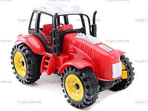 Трактор игрушечный инерционный, ABC-A, цена