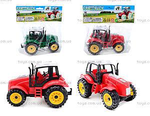 Трактор игрушечный инерционный, ABC-A