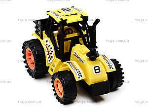 Инерционная игрушка для детей «Трактор», 925-6, фото
