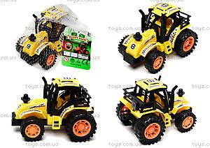 Инерционная игрушка для детей «Трактор», 925-6