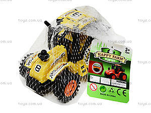 Инерционная игрушка для детей «Трактор», 925-6, отзывы