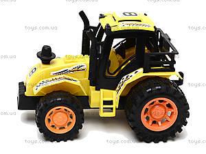 Инерционная игрушка для детей «Трактор», 925-6, цена