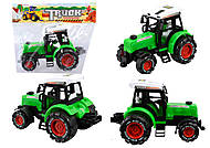 Трактор инерционный, 3 цвета, 658, купить