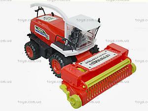 Инерционный комбайн для детей Harvester, 0488-221, купить