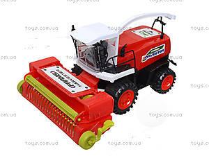 Инерционный комбайн для детей Harvester, 0488-221, игрушки