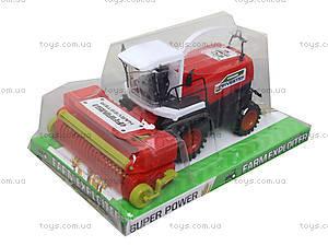 Инерционный комбайн для детей Harvester, 0488-221, детские игрушки