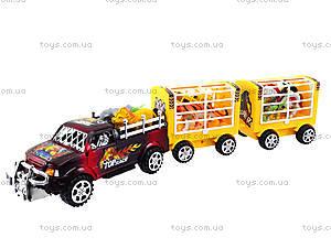 Инерционная машина с домашними животными, 906-100, игрушки