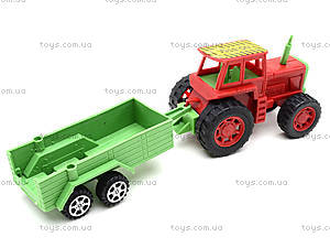 Игрушечный трактор с прицепом и животными, 855A-58B, отзывы