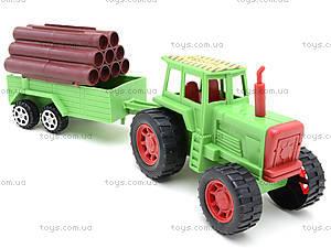 Инерционный трактор с грузовым прицепом, 855A-57B, купить