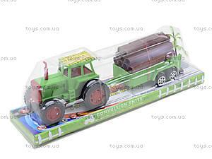 Инерционный трактор с грузовым прицепом, 855A-57B, цена