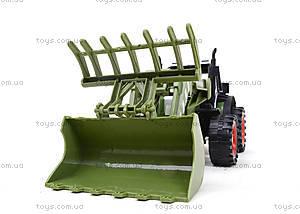 Зеленый/красный инерционный трактор, 4007A-1, купить