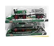 Трактор инерционный 2 вида зеленый, 798-A83(YY93533)