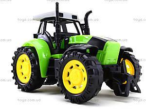 Трактор инерционный, для детей, 1205-2, магазин игрушек