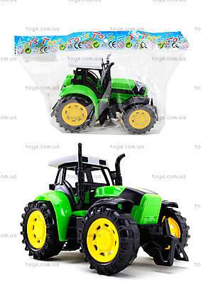 Трактор инерционный, для детей, 1205-2
