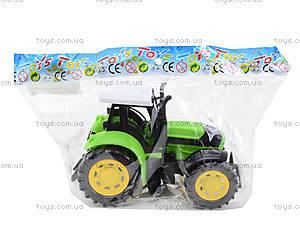Трактор инерционный, для детей, 1205-2, toys