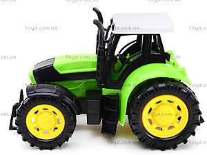 Трактор инерционный, для детей, 1205-2, іграшки