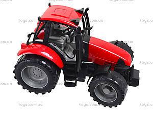 Трактор инерционный «Фермер» для детей, 4089B, фото