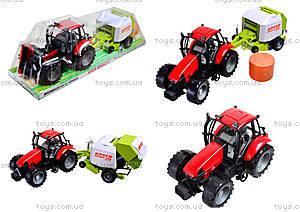 Трактор инерционный «Фермер» для детей, 4089B