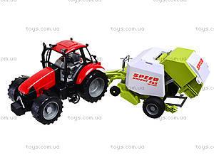 Трактор инерционный «Фермер» для детей, 4089B, отзывы