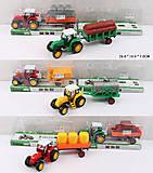 Трактор инерционный микс, 986-111A2A0A09A8, отзывы