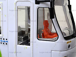 Игрушечный трамвай со световыми эффектами, , фото
